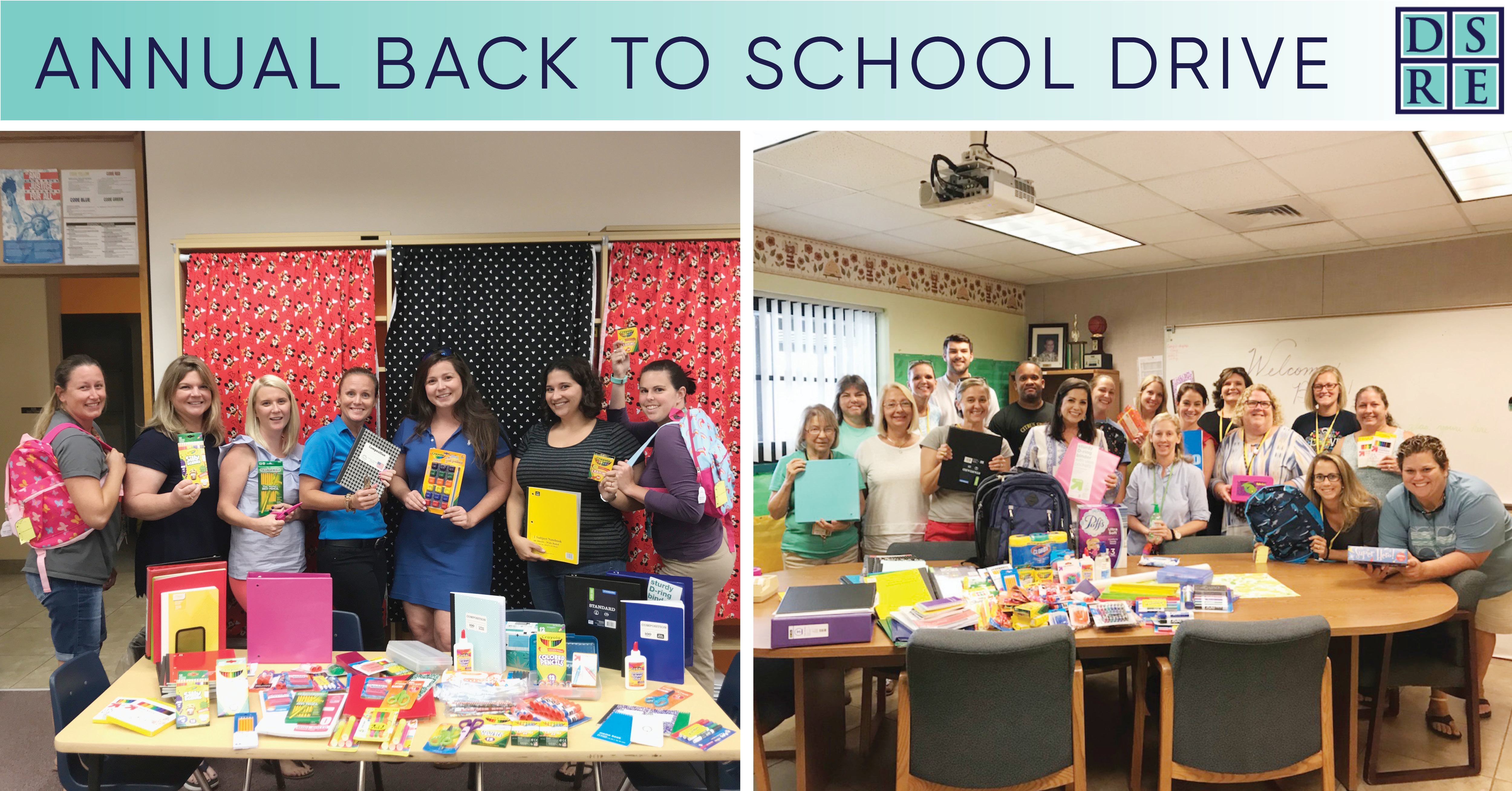 Annual Back To School Drive
