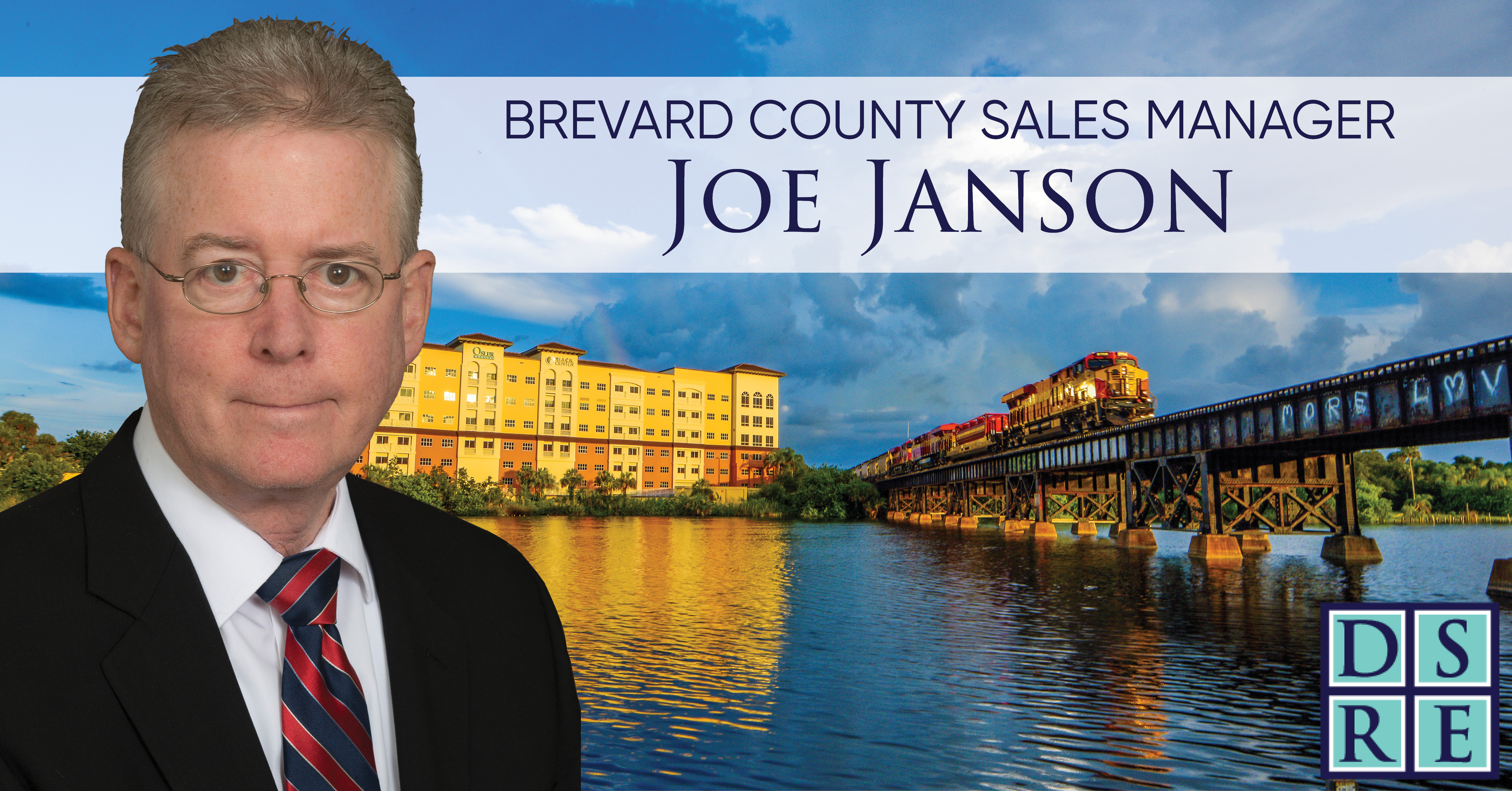 Brevard County Sales Manager Joe Janson DSRE