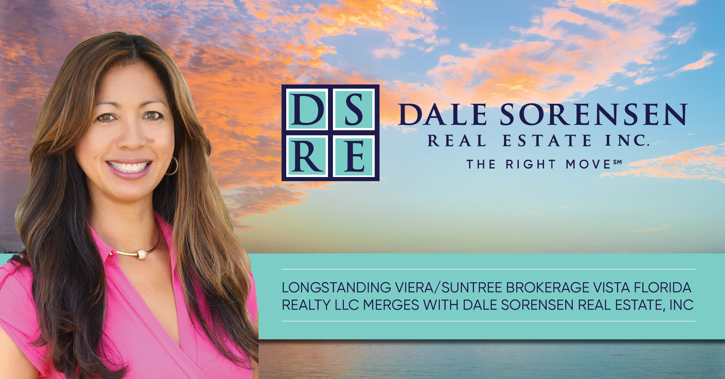 Longstanding Viera/Suntree brokerage Vista Florida Realty LLC merges with Dale Sorensen Real Estate, Inc